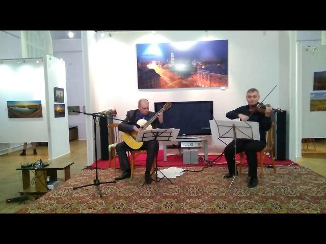1. Milonga del ausente. Jose Luis Merlin Milonga del ausente de la Al Cristo de la Quebrada (para violín y guitarra)