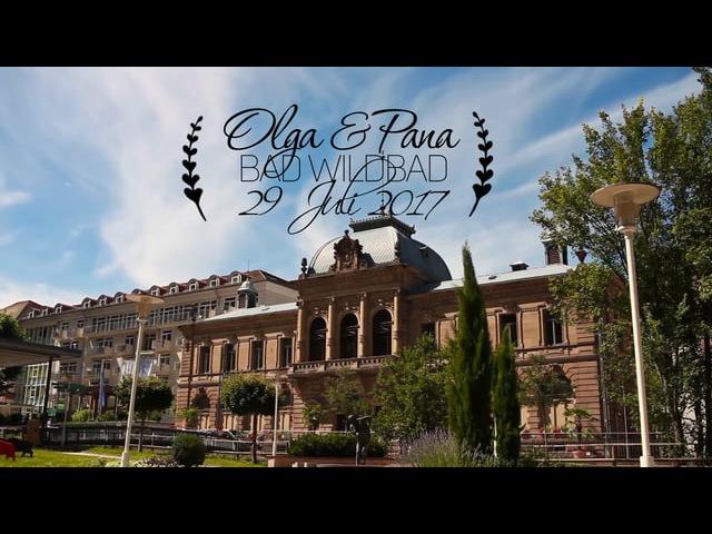 Russische Hochzeit, Hochzeitsvideo Olga Pana