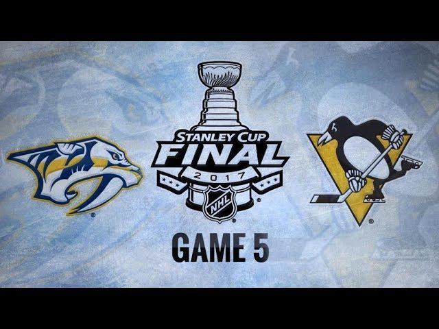Обзор | НХЛ. Кубок Стэнли 2017. Финал, матч №5. «Нэшвилл» – «Питтсбург» 0:6 (счёт в серии: 2–3) | 08.06.17