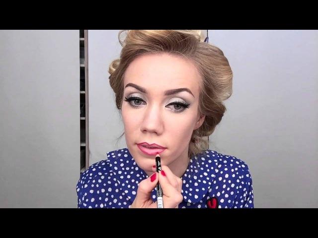 Елена Крыгина Krygina Box макияж 30 40 х годов
