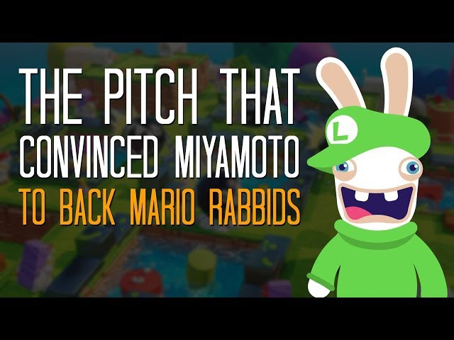 The pitch that convinced Miyamoto to back Mario Rabbids Here's A Thing