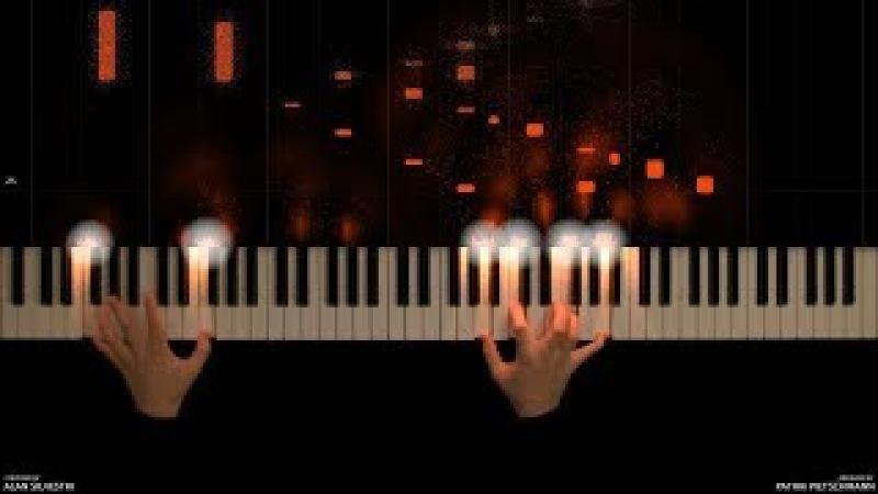 The Avengers Main Theme Piano Version
