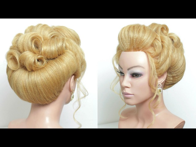 Perfect Updo. Wedding Hairstyle Tutorial For Long Hair