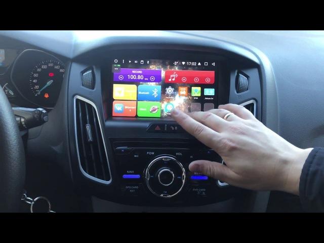 Обзор магнитолы на Ford Focus 3 MegaZvuk T8-9004