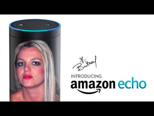 Amazon Echo: Britney Spears Edition
