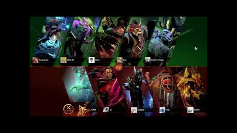 Alliance vs DD DAC 2018, Europe, Upper Bracket, Round 1 Игра 2