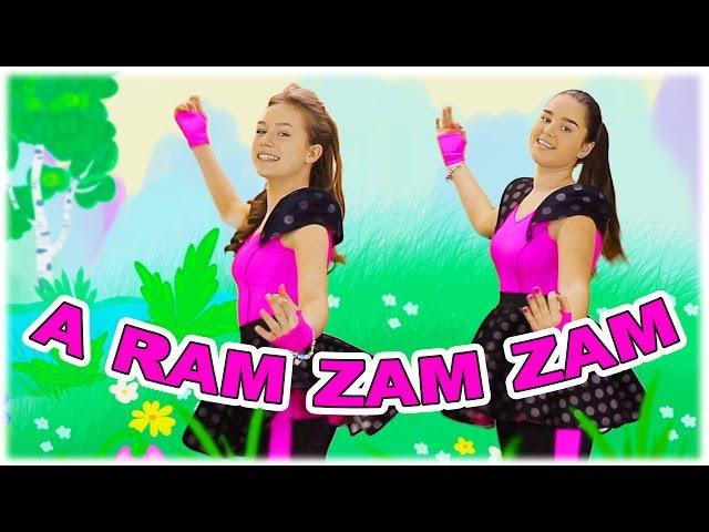 Aram zam zam dance song for children mini disco with girls from band MALDIVY