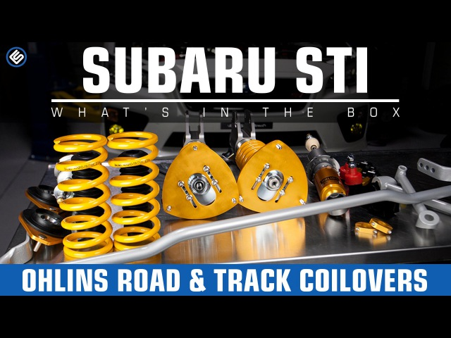 Ohlins Road Track Coilovers 2008-2014 Subaru STI InstallReview