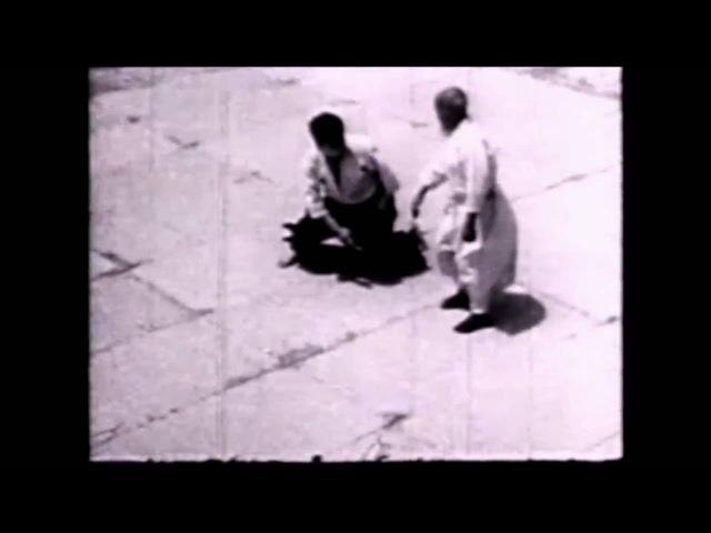 Morihei Ueshiba 1958. Randori (乱取り) with Tamura Sensei