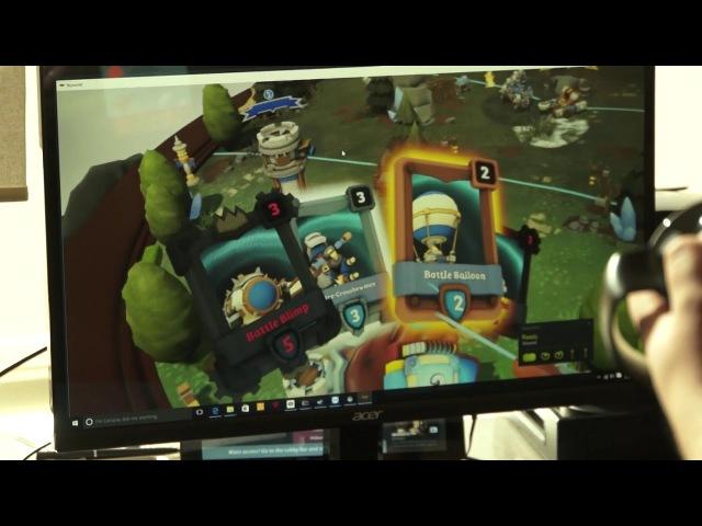 Skyworld VRDC Hands-On Preview (Vertigo Games) - Rift, Vive, Windows VR