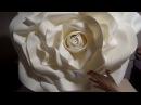 ОГРОМНЫЕ розы из изолона | Часть 3