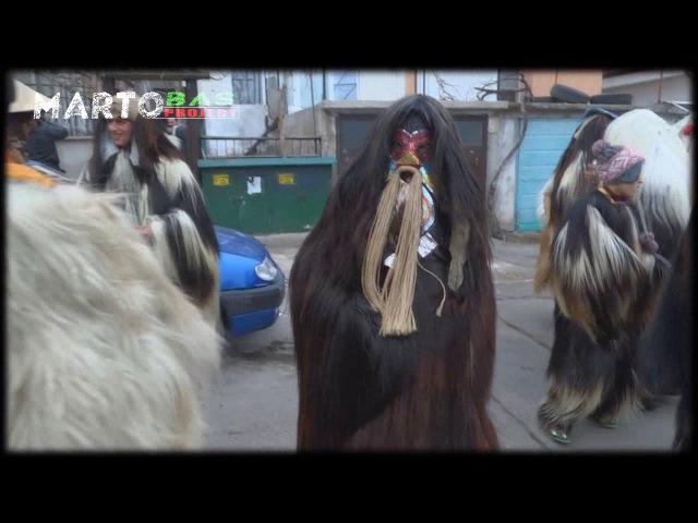 Кукери....Mummers (Kukeri) in Burgas, Bulgaria /2/