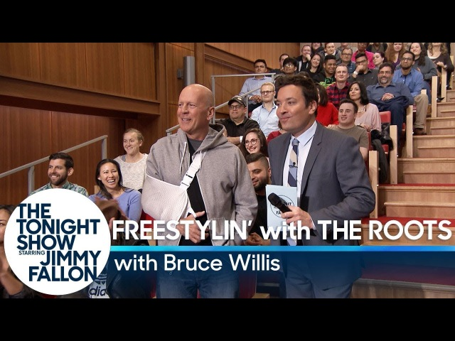 Freestylin' with The Roots with Bruce Willis