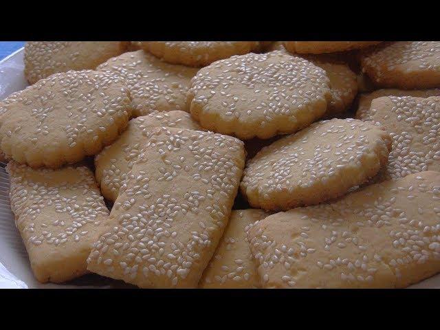 Песочное печенье на желтках .