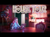 Pink Kawaii Pastel DOLL HOUSE tour - Kelly Eden