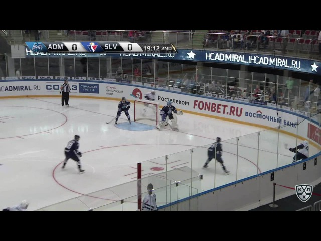 Моменты из матчей КХЛ сезона 16/17 • Удаление. За атаку игрока не владеющего шайбой на 2 минуты наказан Томми Тайми(Слован) 11.0