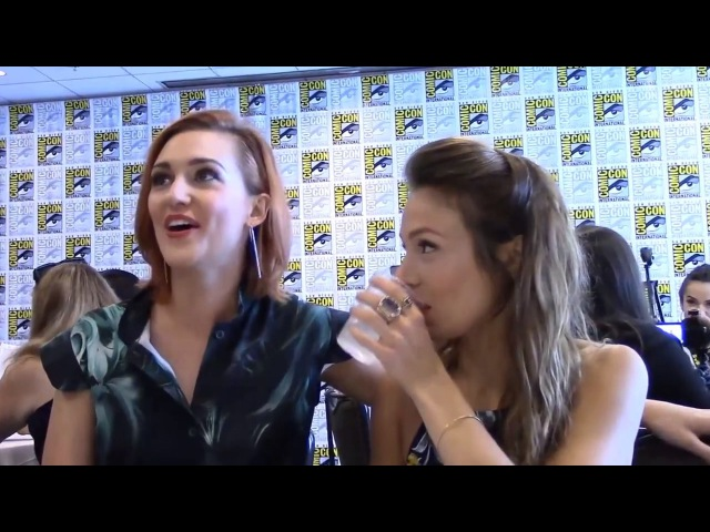 DomKat Katherine Barrell and Dominique Provost-Chalkley Wayhaught 
