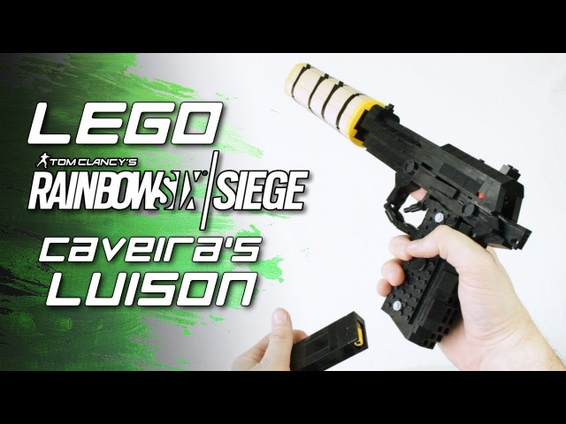 Rainbow Six Siege LEGO Caveira's Luison PRB 92