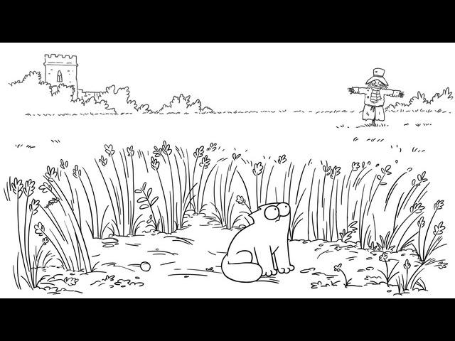 Кот Саймона • Луговая охота