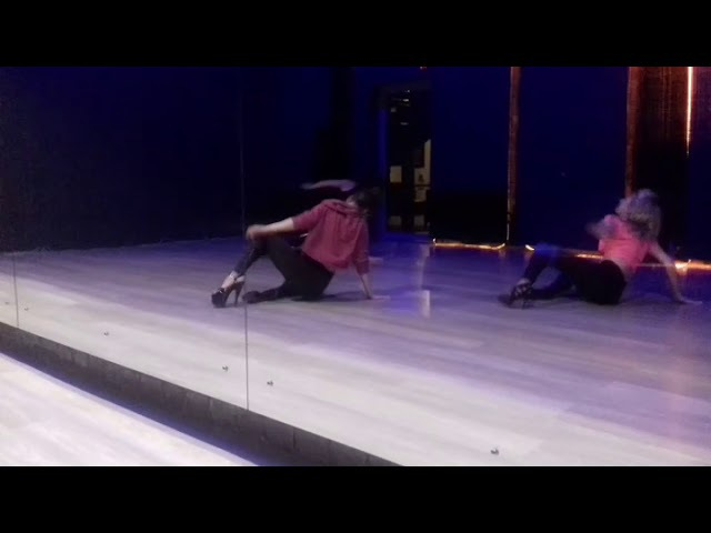 Стрип Хай Хилс (на каблуках) / Ася Чернышева / школа танцев Завод