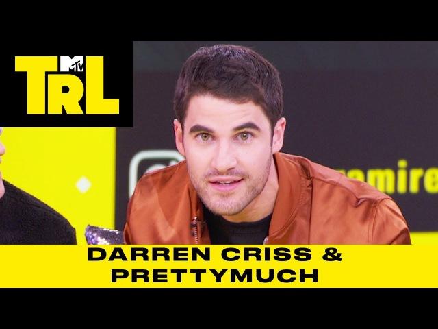 Darren Criss on 'American Crime Story' PRETTYMUCH's Austin Porter Has Hobbit Feet | TRL