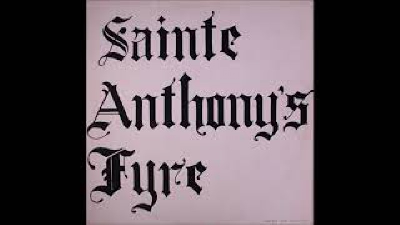 Sainte Anthony's Fyre S T 1970 1987 Breeder vinyl FULL LP