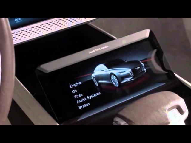 Первый тест-драйв Ауди А9 (Audi A9 concept) концепт кар в Лос-Анджелесе