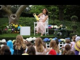White House Easter Egg Roll - Reading Nook with First Lady Melania Trump (4172017)