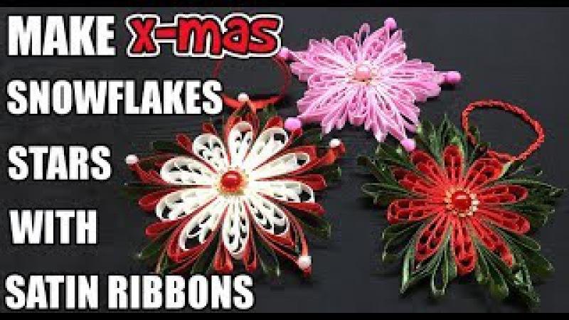 D.I.Y. Satin Ribbon Christmas Ornament | MyInDulzens