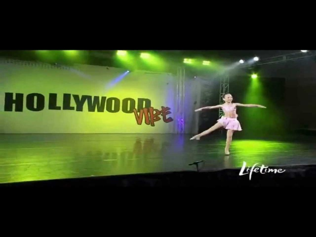 Dance Moms-Maddie Solo-The Girl I Wanna Be(I've Got A Picture)