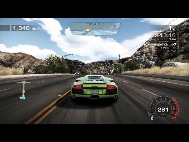 Need For Speed Hot Pursuit - Lamborghini Murcielago LP640