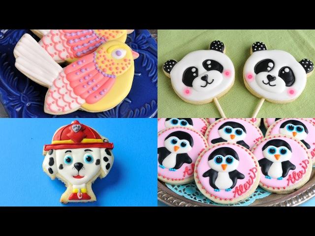 AMAZING ANIMAL COOKIES, PANDA, GRUMPY CAT, PAW PATROL, FLAMINGO, OCTOPUS by HANIELA'S