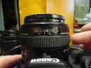 Восстановление объектива Canon 50mm / F1,4 после удара - часть 1