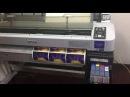 El proceso de impresion con plotter de epson f6280
