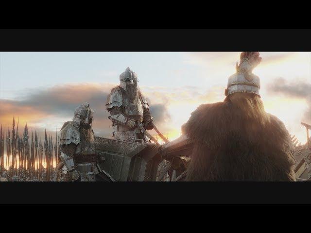 Эльфы сражаются с гномами HD