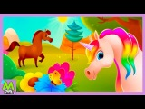 Моя лошадкаВиртуальная Пони.Самая Лучшая Лошадка в Мире.Игровой Мультик для Детей