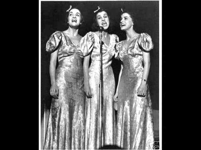 The Andrews Sisters Bei Mir Bist du Schoen 1939