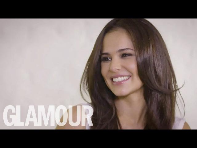 Cheryl talks makeup, mummy duties her new L'Oreal lip kits with Alex Steinherr | Glamour UK