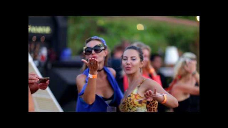 Sunset party at W GOA Rock Pool venue Vagator Beach 2017 Гоа Вечеринки Дискотеки