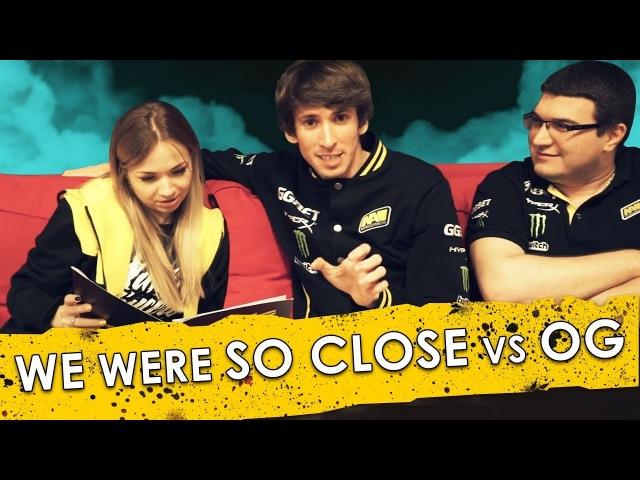 NAVI PGL MAJOR VLOG: We were so close vs OG