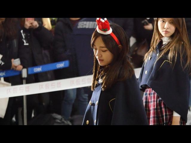 171215 코엑스 구구단 팬사인회 스노우 볼 (Snowball) 김세정 4K 직캠 by ace