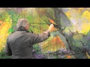 Steve Carpenter - The Four Seasons Mural at Village Gate - Creation of a mural.
