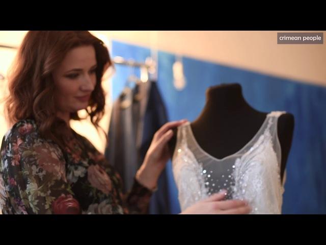 CRIMEAN PEOPLE - Olga Fedorova. Wedding dresses and wedding jewerly (short version II)