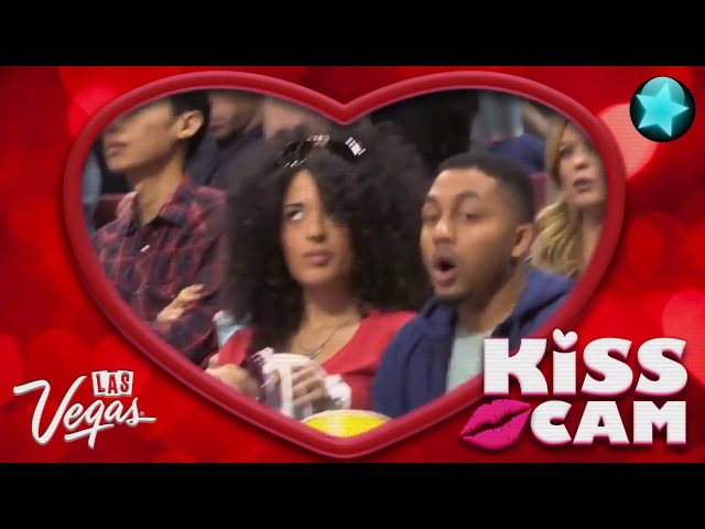 Kiss Cam awkward moments - Old but gold ..