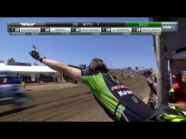 2018 AMA Lucas Oil Pro Motocross RD1 250 CLASS MOTO 1 (HANGTOWN)