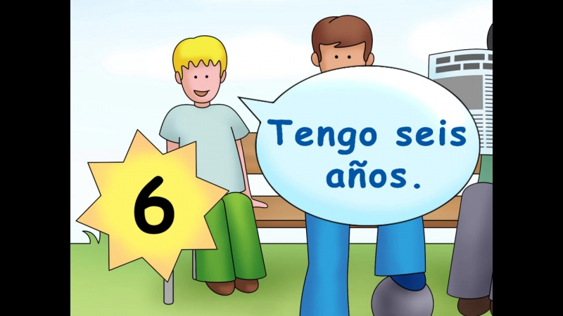 How old are you - ¿Cuántos años tienes - Calico Spanish Songs for Kids