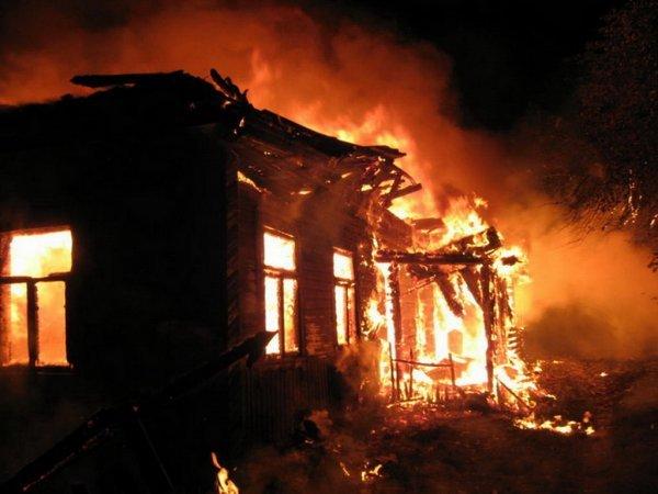 В Сторожевой сгорел жилой дом