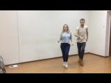Urban kiz solo . Alexa & Artem. Choreo Willy