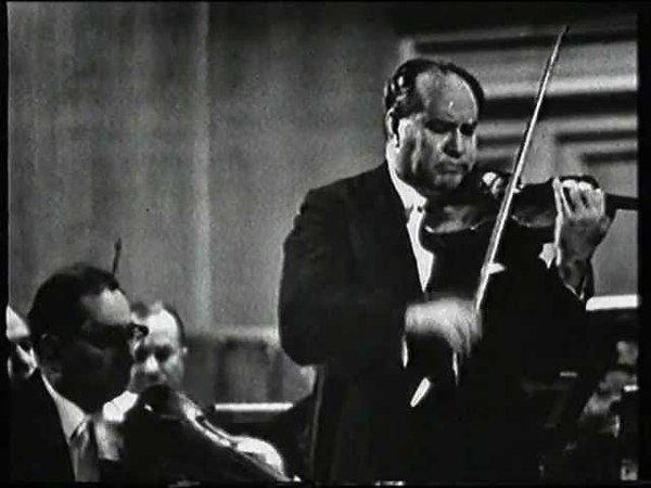 David Oistrakh plays Tchaikovsky Violin Concerto in D Major, Op. 35: I. Allegro moderato - Moderato assai
