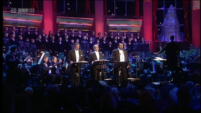 Christmas in Vienna 1999 - The Three Tenors (Вена, 23.12.1999)